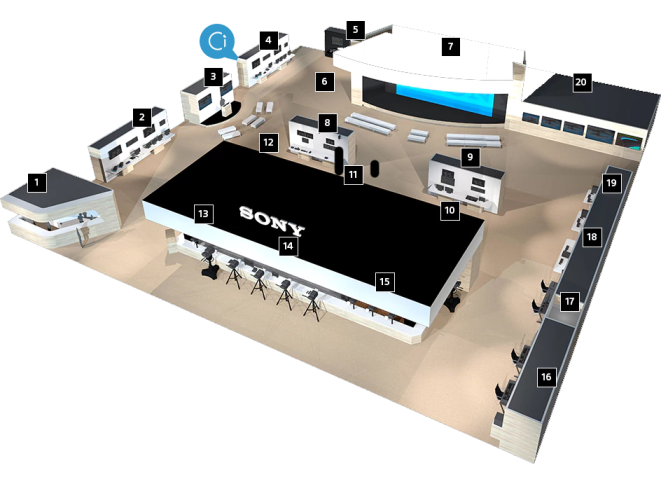 NAB 2018 Sony Booth with Ci pointer.png